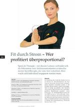 Medical Fitness and Healthcare 01/2010